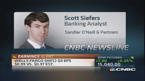 WFC earnings: The good, the bad