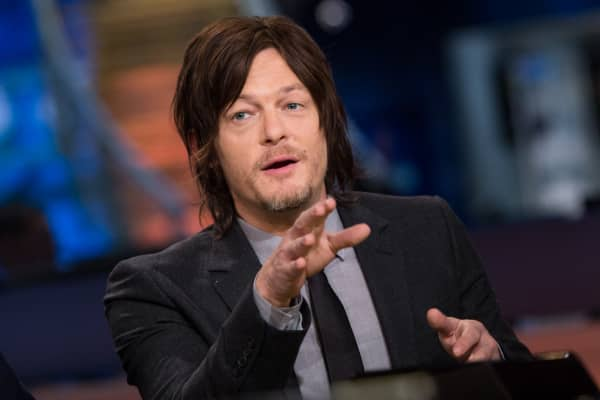 "Norman Reedus who plays Daryl Dixon on AMC's ""The Walking Dead""."