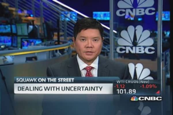 Trading advantages during DC uncertainty