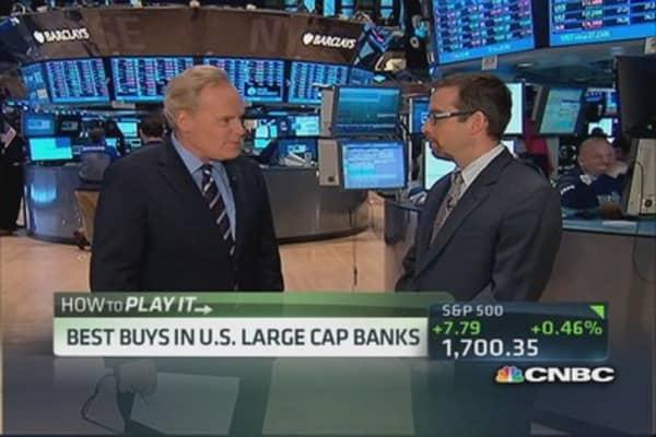 Top analyst 'very positive on JPMorgan'