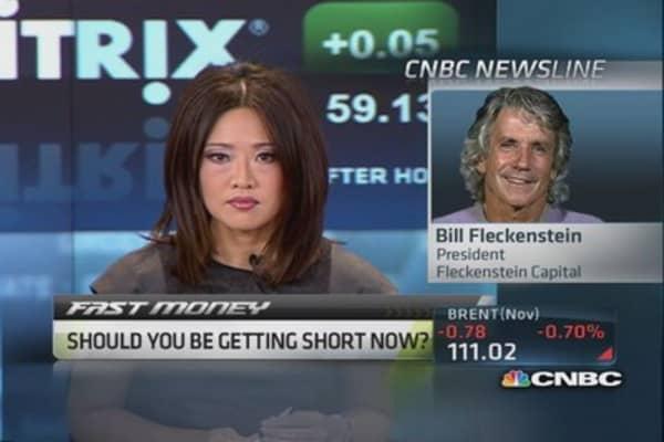 Fleckenstein: Prepare to get short