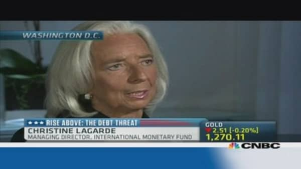 Lagarde: US shutdown is 'very, very concerning'