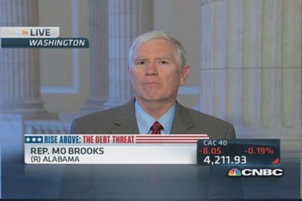 Raising debt ceiling just 'kicks the problem down the road': Rep. Brooks