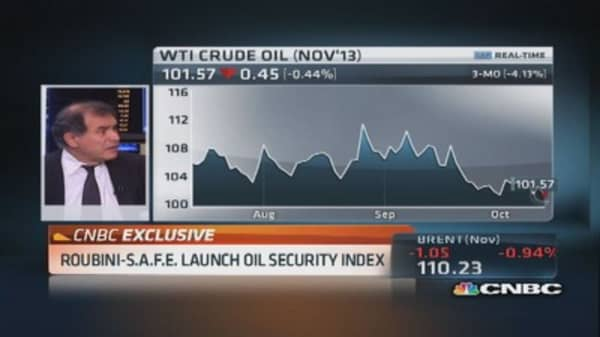 US ranks fifth in oil security: Roubini
