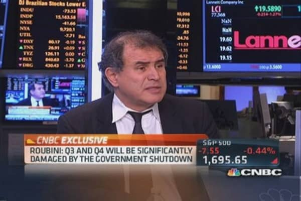 Roubini: Overweight developed markets