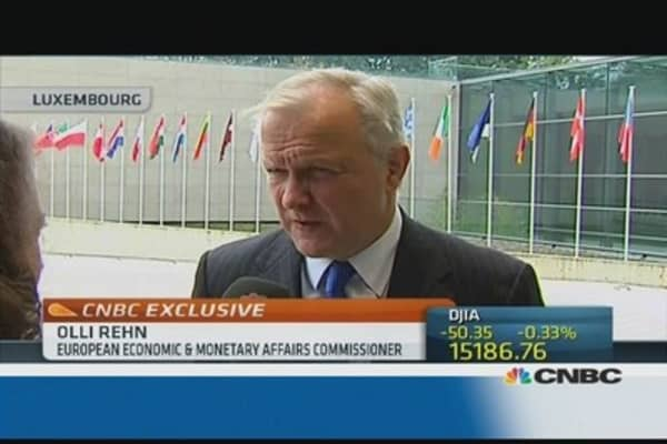 The US needs to be responsible: Olli Rehn