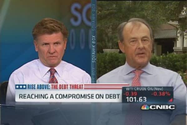 Bowles on this week's debt ceiling deadline