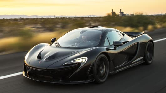 A McLaren P1