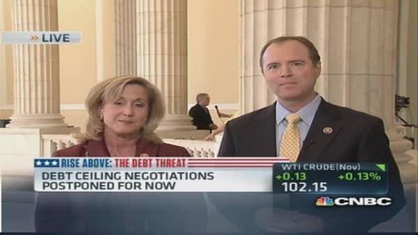 Debt ceiling negotiations underway