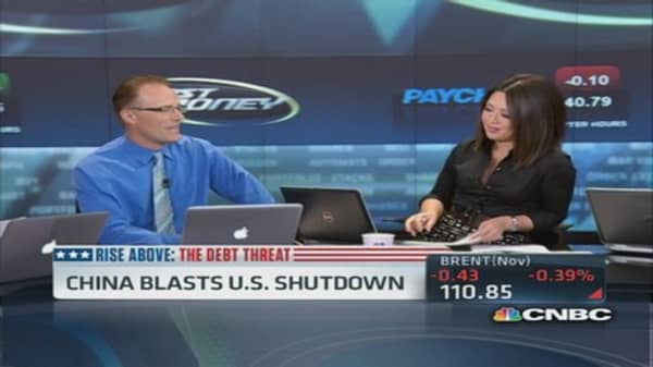 Chinese basically yelling at the US: Trader