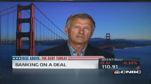 Wells Fargo ex-CEO: Default would be 'horrendous'