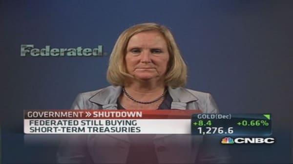 Not shunning Treasurys: Federated Investors CIO