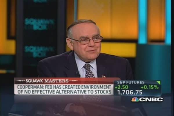 Washington closes the circus but still paying the clowns: Cooperman