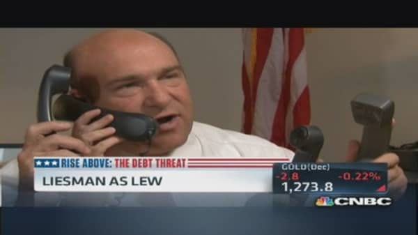 Steve Liesman puts himself in Jack Lew's shoes