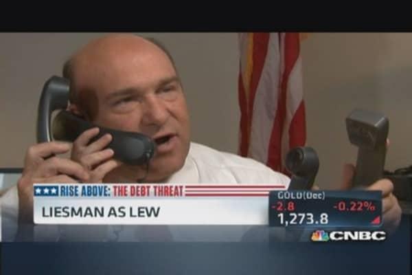 Steve Liesman puts himself in Jack Lew's shoes