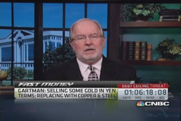 'You should probably own steel stocks': Dennis Gartman