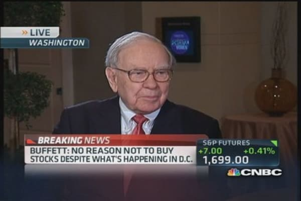 DC's 'political weapon of mass destruction': Buffett