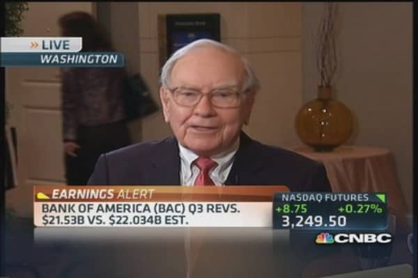 Buffett on JPMorgan's woes