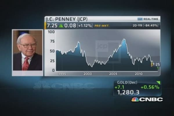 Buffett on JC Penney's future