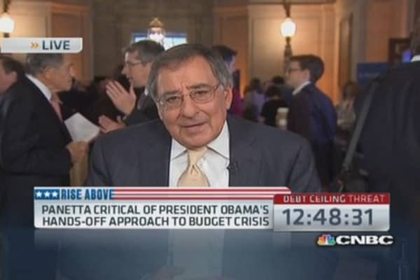 Panetta: Debt mess makes America look weak