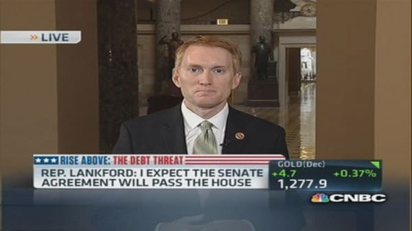 Should be a vote on Senate deal tonight: Rep. Lankford