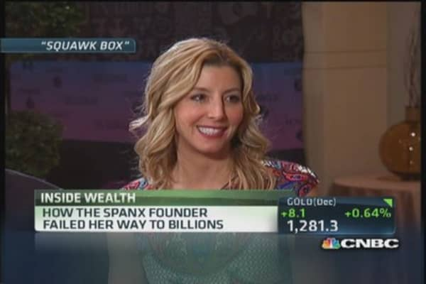 How the Spanx founder failed her way to billions