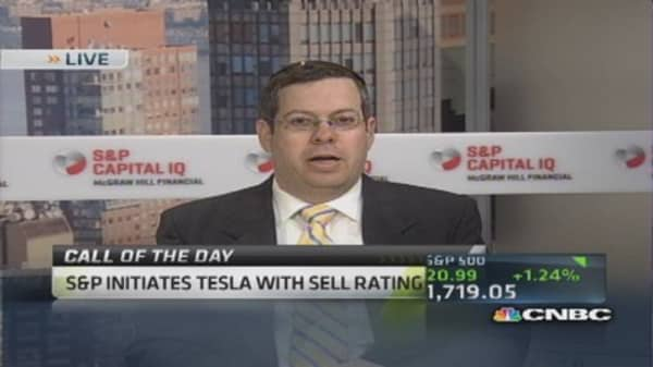 Tesla stock's valuation a speed bump: Pro
