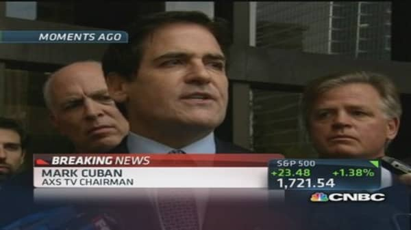 Mark Cuban: Glad I can afford to stand up to FCC