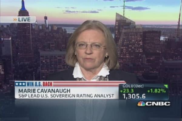 'Brinkmanship' constrains US credit rating: Pro