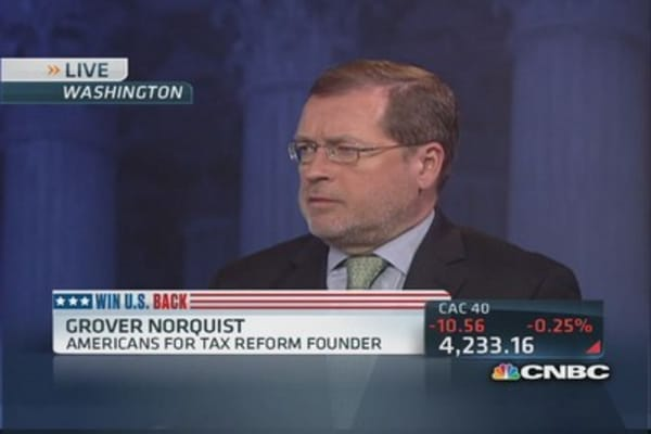 Norquist: Taxes slow down economic growth