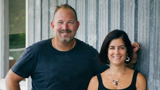 Bryan and Donna Scott are owners of Barn Light Electric in Titusville, Florida.