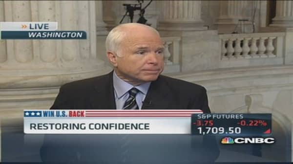 Sen. McCain: Republicans 'punished' most by shutdown