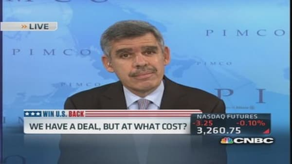 El-Erian: 'Political dysfunction' is an issue for markets