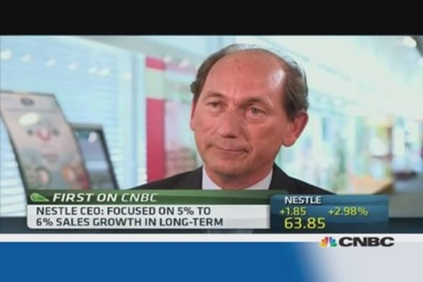 Nestle will reach its target: CEO