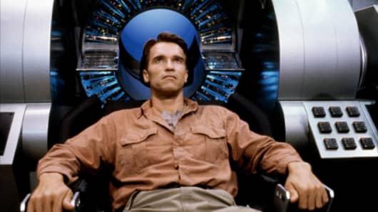 "Arnold Schwarzenegger in ""Total Recall"""