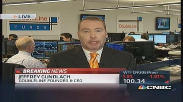 Gundlach: America's credibility is eroding