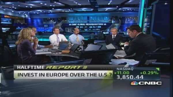 'I like Europe because it's not the US': Pro