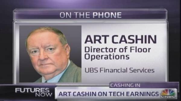 Art Cashin: Tech stocks today remind me of the dot-com bubble