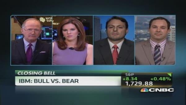 IBM: Bull vs. bear