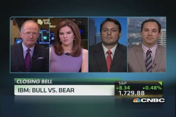 IBM: Bull vs. bear