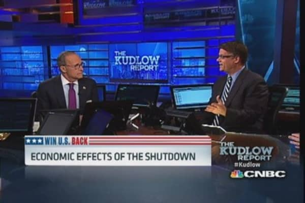 Economic effects of the shutdown