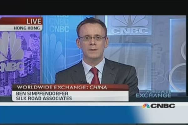 Chinese economy is 'imbalanced'
