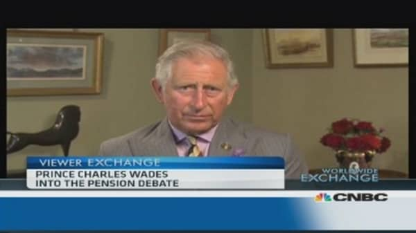 A lesson in investment from...Prince Charles?