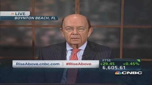 Wilbur Ross on Obamacare problems