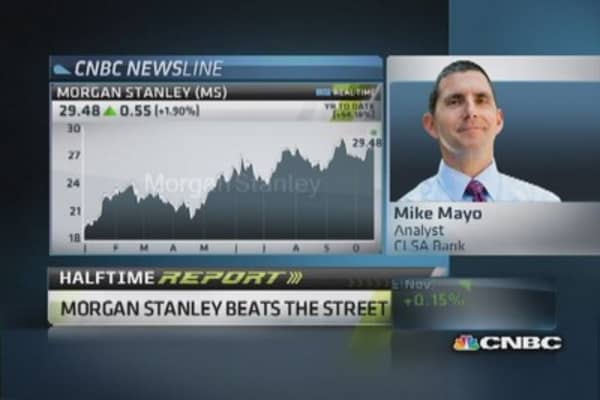 More good news ahead for Morgan Stanley: Analyst