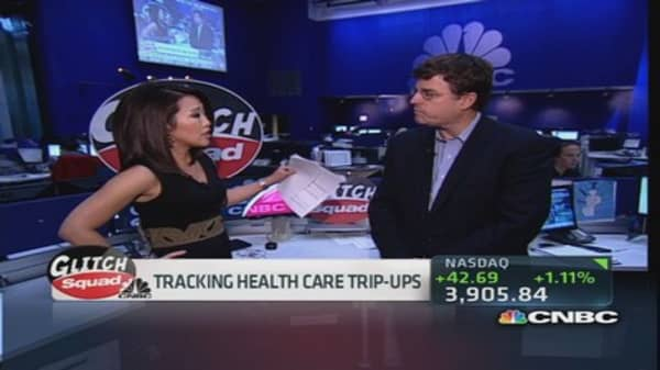 Tracking health care trip-ups