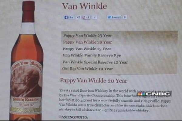 'Pappy' unhappy over big Bourbon theft