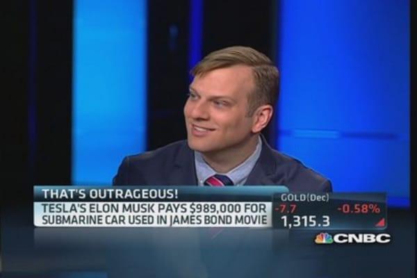 Elon Musk goes 007!