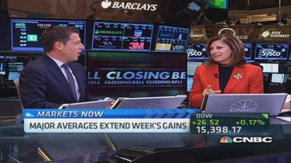 Closing Bell celebrates 20th anniversary with Maria