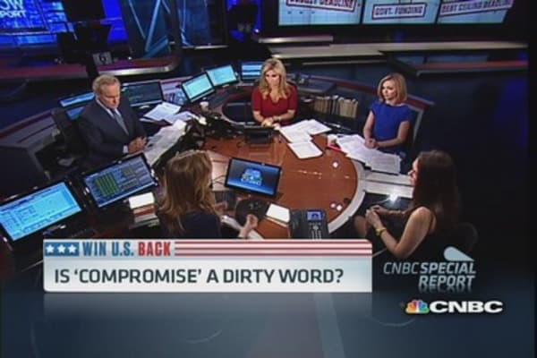 Is 'compromise' a dirty word?